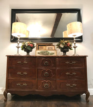 Load image into Gallery viewer, (SOLD) Gorgeous Vintage French Country High-End Bassett Dresser/Entryway/Media/Buffet with Beautiful Details and Hardware!!