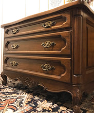 Load image into Gallery viewer, (SOLD) Gorgeous French Country Dresser/Nighstand/End-Side Table/Entryway/Console with Beautiful Details and Hardware!!