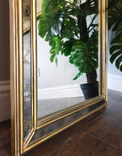 Load image into Gallery viewer, (SOLD) Gorgeous Vintage French Country Decorative Vertical Mirror in Excellent Condition!! Perfect Versatile Accent Mirror any room in your Nest!!