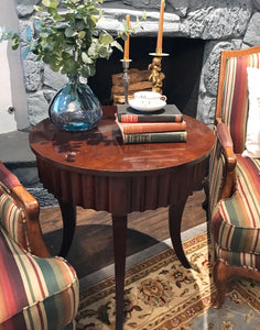 (SOLD) Gorgeous High-End Ethan Allen Side/End/Accent Table in Excellent Condition. Beautifully Constructed and Sturdy!!