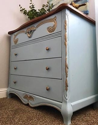 (SOLD) Gorgeous Vintage French Country Entryway/Console/Dresser/Media/Buffet with Beautiful Details and Heavy Duty Solid Wood!!!