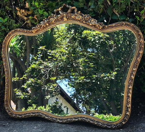 (SOLD) Stunning Vintage French-Victorian Decorative/Accent Mirror with Gorgeous Details!! 40W 30H