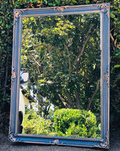 Load image into Gallery viewer, (SOLD) Gorgeous ReDesigned Vintage French County Decorative Wall Mirror with Beautiful Details and Excellent Condition!!