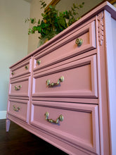 Load image into Gallery viewer, (SOLD) GORGEOUS French Modern 6Drawer Dresser with Beautiful Details, Hardware and Excellent Condition!! Perfect French Statement BEAUTY indeed!!