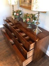 Load image into Gallery viewer, (SOLD) Gorgeous Vintage High-End Mid-Century Modern HENREDON Dresser and 2 Nighstands in Excellent Condition!!