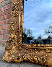Load image into Gallery viewer, (SOLD) Stunning Antique French-Victorian Extra Large Decorative Mirror with Gorgeous Details and Excellent Condition!!! Perfect Antique Accent Piece any room in your Nest!!!