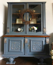 Load image into Gallery viewer, (SOLD) Gorgeous Versatile Antique Victorian China/Display Cabinet/Entryway/Bookshelf/Dresser/Buffet with Beautiful Details!! 52X70X17
