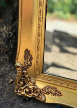 Load image into Gallery viewer, (SOLD) Stunning High-End Vintage A. J. Olson Large French Country Gold Gilt Wall/Floor Bevelled Mirror in Excellent Condition!!!