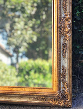 Load image into Gallery viewer, (SOLD) Gorgeous Vintage French-Victorian Decorative/Accent Bevelled Mirror with Beautiful Details!! 44X32