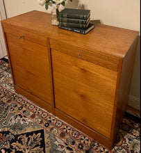 Load image into Gallery viewer, (SOLD) Simply Beautiful DANISH MODERN MID CENTURY TEAK Solid Credenza-Buffet-Entryway-Console!!! Perfect BARGAIN Danish MCM any room in your Nest!!