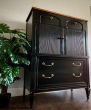 Load image into Gallery viewer, (SOLD) Gorgeous Restoration Hardware inspired BLACK Chest of Drawers/Tallboy/Dresser in Superb Condition!!