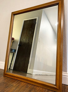 (SOLD) Mirror) in Excellent Condition. Perfect for MCM and Wood Lover!!!