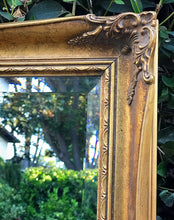 Load image into Gallery viewer, (SOLD) Stunning Vintage French Country Mirror with Gorgeous Details and Bevelled Glass!! This is a RARE BEAUTY!! 41X24