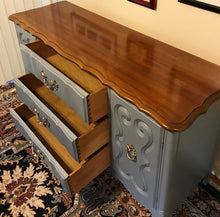 Load image into Gallery viewer, (SOLD) Gorgeous Vintage French Country Buffet/Dresser/Entryway/Media in Excellent Condition!! 59X31X19