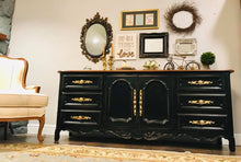 Load image into Gallery viewer, (SOLD) GORGEOUS Vintage Extra Large High-End Drexel Cabernet Dresser/Buffet/Media/Entryway