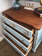 Load image into Gallery viewer, (SOLD) Gorgeous Vintage French Country Entryway/Console/Dresser/Media/Buffet with Beautiful Details and Heavy Duty Solid Wood!!!