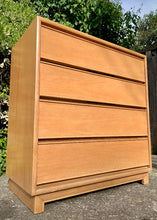 Load image into Gallery viewer, (SOLD) BEAUTY, CLEAN and SOLID!! Mid Century Modern Chest of Drawers-Dresser in Excellent Condition!! Perfect Clean Line Piece!!!