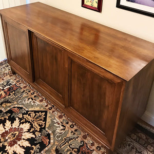 (SOLD) BEAUTIFUL Vintage High-End Mid-Century Willet Sideboard-Dresser-Entryway-Media. Simply Beautiful!! 62X32X21