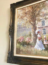 Load image into Gallery viewer, (SOLD) Stunning Vintage French Country Oil Painting with Gorgeous Details and Excellent Condition!! 57W 33H 2D