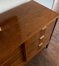 Load image into Gallery viewer, (SOLD) STUNNER High-End Stanley Danish MidCentury Modern Dresser/Entryway/Media/Credenza/Console/Sofa Table in Superb Condition. Perfect Danish BARGAIN MCM Piece for Minimalist and Wood Lover!!
