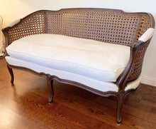 Load image into Gallery viewer, (SOLD) Gorgeous Vintage French Settee/Bench in Excellent Condition!! 58X30X31