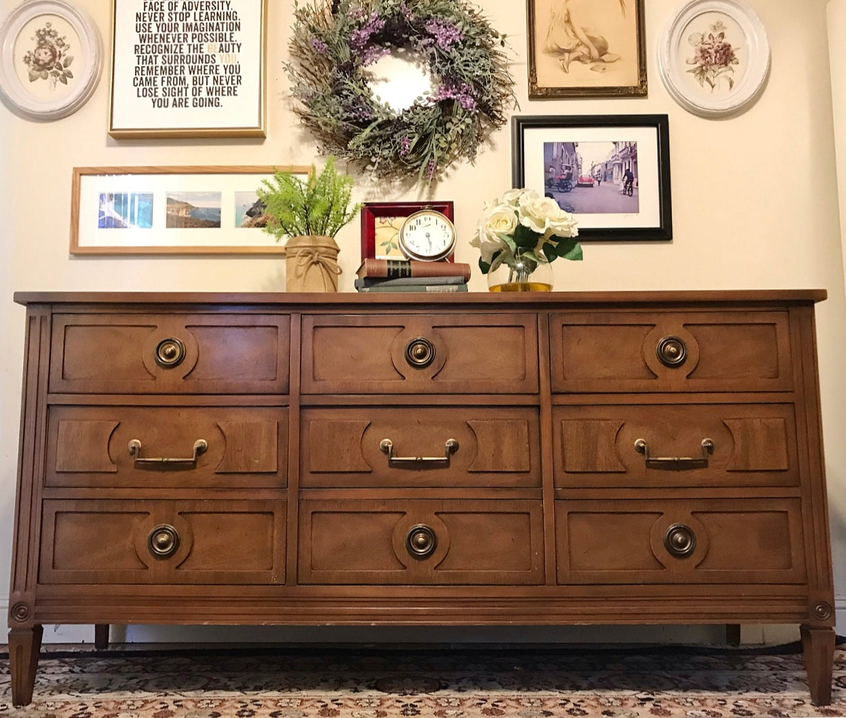 (SOLD) Gorgeous and Barely Used Mayflower Furniture Co. Mid-Century Modern Dresser and Chest of Drawers in Excellent Condition!!!