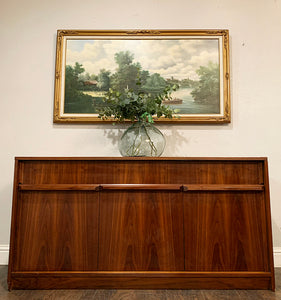 (SOLD) Simply Beautiful MID CENTURY MODERN Custom Built Credenza-Buffet-Media-Storage-Entryway in Superb Condition!! Perfect Versatile MCM BEAUTY for Minimalist and Wood Lover!!