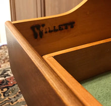 Load image into Gallery viewer, (SOLD) BEAUTIFUL Vintage High-End Mid-Century Willet Sideboard-Dresser-Entryway-Media. Simply Beautiful!! 62X32X21