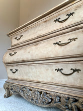 Load image into Gallery viewer, (SOLD) Stunning Extra Large Ornate French Country Bombay Chest Entryway/Dresser/Buffet/Media with Gorgeous Details and Excellent Condition!!