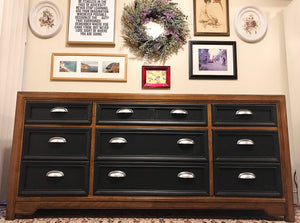 (SOLD) Gorgeous Modernized High-End Thomasville Mid-Century Dresser/Media/Credenza/Entryway!! 67X31X18