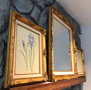 (SOLD) Gorgeous Set of French Country Mirror With Bevelled Glass and Wall Decor in Excellent Condition!! They are Beauty and Class!!!