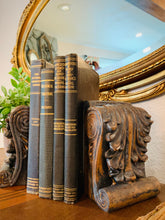 Load image into Gallery viewer, (SOLD) French-Victorian-Farmhouse Candle Holders and Weathered Book End! Beauties!!
