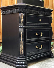 Load image into Gallery viewer, (SOLD) Gorgeous Marble Top Victorian End-Side Table/Nighstand/Entryway/Corner Display Piece with Beautiful Details!!