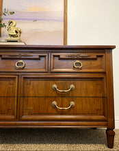 Load image into Gallery viewer, Stunner High-End Dixie Vintage French Regency Style Dresser/Entryway/Console/Media/Buffet with Gorgeous Design, Wood Grain and Original Hardware!!!