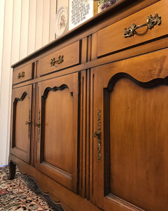 (SOLD) Gorgeous High-End Vintage Drexel Heritage French Country Buffet/Sideboard/Console/Media/Entryway in Excellent Condition!!