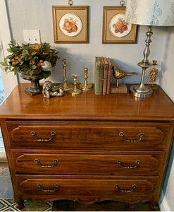 (SOLD) Beautiful High-End Henry Link Margaux Collection Vintage Versatile French Country Dresser/Entryway/End-Side Table in Excellent Condition!!