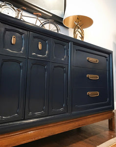 (SOLD) Gorgeous Large Restoration Hardware inspired Mid-Century Modern Dresser/Buffet/Media/Entryway in Excellent Condition!!!