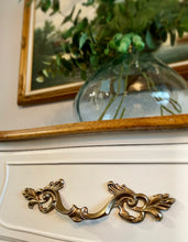 Load image into Gallery viewer, (SOLD) STUNNER and Newly ReDesigned High-End French Country Modern Dresser/Media/Entryway/Buffet/Credenza with Gorgeous Hardware and Design