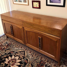 Load image into Gallery viewer, (SOLD) Gorgeous High-End Mid-Century Modern Credenza/Media/Buffet/Entryway by Brown-Saltman Furniture Company!! 66X31X19