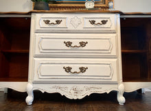 Load image into Gallery viewer, (SOLD) Gorgeous Vintage French Country-Farmhouse inspired Buffet/Credenza/Entryway/Dresser/Console with Beautiful Details and Hardware!!