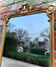 Load image into Gallery viewer, (SOLD) Stunning 1930s Victorian Decorative Wall Mirror with Beautiful Design. Perfect for Victorian-Antique Lover!!