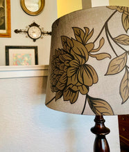 Load image into Gallery viewer, (SOLD) Gorgeous Modern French Country inspired Floor Lamp with Beautiful Wood Design!! Perfect Piece any spot in your Nest!! She is a BEAUTY indeed!!