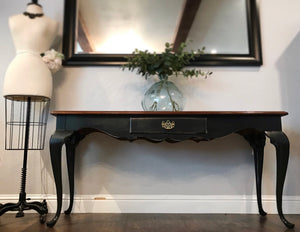 (SOLD) Gorgeous Versatile High-End French Provincial Thomasville Entryway/Console/Desk/Sofa Table in Excellent Condition!!!