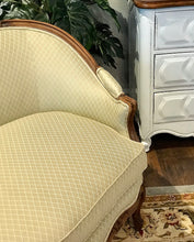 Load image into Gallery viewer, (SOLD) Gorgeous Vintage French Louis XV Style Settee with Beautiful Details. Perfect Piece in Living Room or Bedroom!! BEAUTY and CLASS!!