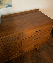 Load image into Gallery viewer, (SOLD) STUNNER Danish Mid Century Modern Dresser/Media/Entryway/Credenza in Superb Condition!! Perfect BEAUTY for Minimalist and Wood Lover!!!