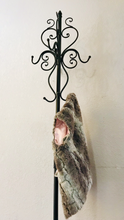 Load image into Gallery viewer, (SOLD) Gorgeous and Versatile French inspired Metal Coat-Hat-Key Rack in Excellent Condition!!!