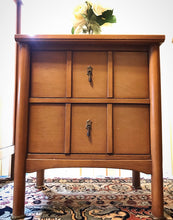 Load image into Gallery viewer, (SOLD) GORGEOUS Vintage High-End Mainline by Hooker Mid-Century Bedroom Set!! They are BEAUTIES!!!