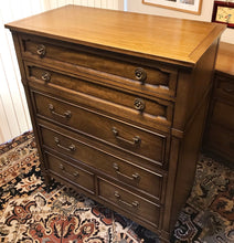 Load image into Gallery viewer, (SOLD) Set of Gorgeous High-End Drexel Mid-Century Modern Dresser and Chest of Drawers in Excellent Condition. Perfect MCM Pieces!!!