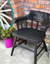 Load image into Gallery viewer, (SOLD) GORGEOUS Vintage 1950s Decorative Indoor/Outdoor Captain Chairs with French Design!!! 25W 30H