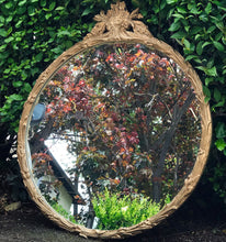 Load image into Gallery viewer, (SOLD) GORGEOUS Antique 1930s Holywood Regency Victorian Mirror with Beautiful Details!! 31W 37H